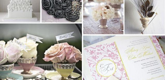 Бојата и стилот на вашата венчавка
