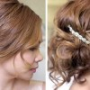 Романтична свадбена фризура