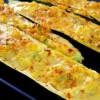 Полнети тиквички со јајца и сирење
