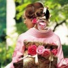 Поинакви невестински фустани – јапонски кимона