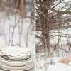Свадба како зимска приказна