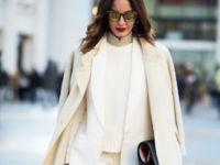 Носете бело и во зима