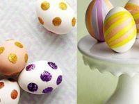 Направете сами : Велигденски јајца без боја