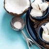 Домашен сладолед од кокос и бела чоколада
