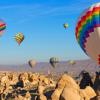 Летање со балон: Најубавите бои на есента во Кападокија