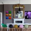 Пет идеи како да ги вклопите интензивните бои во вашиот ентериер со стил