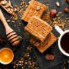 ПОСНИ ЛЕШНИК КОЦКИ: десерт со медени розен кори
