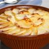 КОМПИРИ СО СУПА ОД КЕСИЧКА: зачинети компири во рерна со додаток од печурки и кашкавал