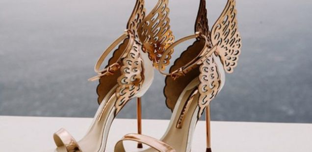 11 Совршени свадбени чевли со боја на розево злато