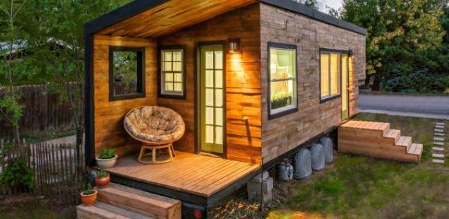 Куќичка од сказните: дрвена викендичка од 18 квадрати во која ќе се заљубите