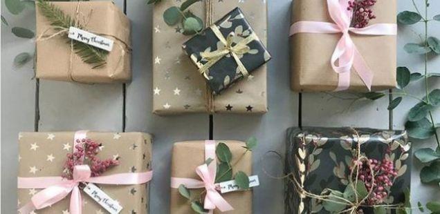 Генијален трик кој ќе ви покаже како брзо да го завиткате подарокот, а да изгледа одлично