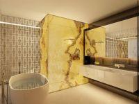 Луксузно опремен стан во кафеава боја