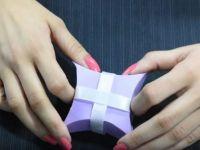 НАПРАВИ САМ: Направете декоративна кутија со парче хартија и ЦД!