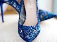 5 уникатни начини да носите нешто сино на венчавката