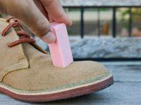 Исчистете ги чевлите од превртена кожа