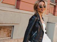 Кожна јакна – моден фаворит за пролетните денови