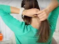 Едноставен трик од 2 минути за продолжување на косата