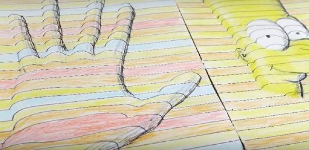 Ставил дрвена лажица на лист хартија. Резултатот е генијален!