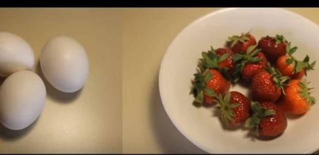 Таа го исече врвот на тврдо варено јајце и направи нешто генијално!