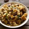 Посно рижото со печурки