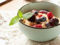 Кус-кус десерт со вишни