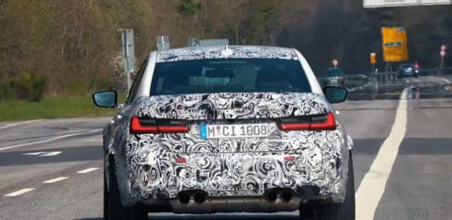 BMW M3 и M8 Gran Coupe во Nurburgring