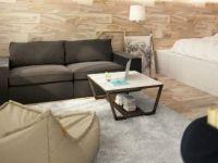 Одличниот избор на бои и материјали го прави овој дом идеален за млад пар!