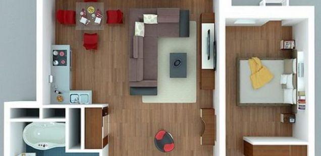 Три одлични плана за двособен стан