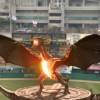 Змеј на бејзбол натпревар!
