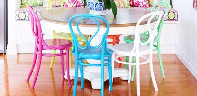 Освежете ги старите столици во вашиот дом
